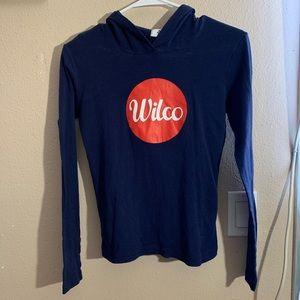 Wilco long sleeve hoodie